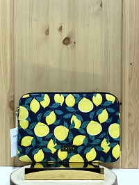 Housse Midnight Lemons Tablette CASYX - Jaune